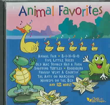 ANIMAL FAVORITES (CD)